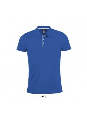 Pánská polokošile(SOLS PERFORMER MEN MENS SPORTS POLO SHIRT)>modrá (royal)>S