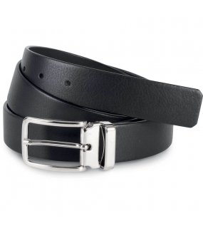 "Pásek (K-UP ""CLASSIC BELT IN FULL GRAIN LEATHER - 30MM"")>černá"