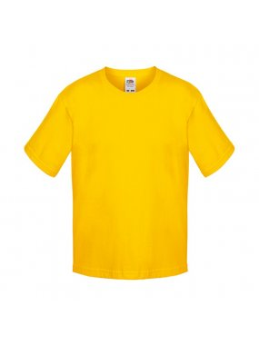 Dětské tričko (FRUIT OF THE LOOM Boys Sofspun Tee)>žlutá (sunflower)>7/8