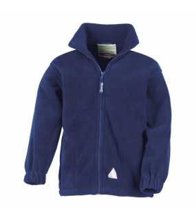 Dětská bunda (RESULT JUNIOR FULL ZIP ACTIVE FLEECE)>modrá (royal)>XS