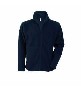 Unisex fleece bunda(KARIBAN MARCO FULL ZIP FLEECE JACKET)>modrá (navy)>L