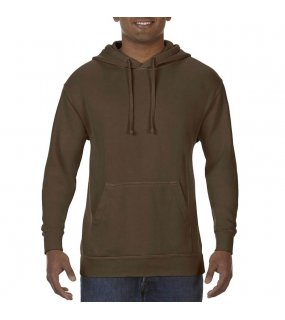 Pánská mikina (COMFORT COLORS ADULT HOODED SWEATSHIRT)>hnědá (chocolate)>3XL