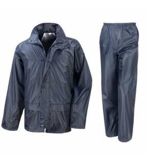 Unisex bunda (RESULT CORE RAIN SUIT)>modrá (navy)>L