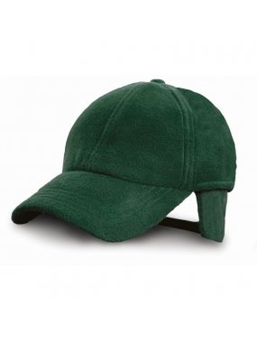 Kšiltovka (RESULT POLARTHERM™ FLEECE CAP)>zelená (forest)