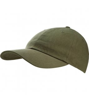 6 panelová kšiltovka (K-UP WASHED CAP - 6 PANELS)>zelená (military)