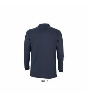 Pánská polokošile(SOLS WINTER-II LONG SLEEVE POLO SHIRT)>modrá (navy)>XL