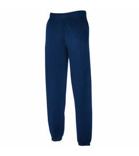 Pánské tepláky (FRUIT OF THE LOOM Elasticated Jog Pants )>modrá (navy)>XL