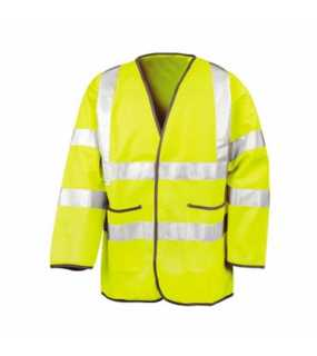 Unisex bunda (RESULT SAFEGUARD LIGHTWEIGHT MOTORWAY SAFETY JACKET)>žlutá>XL