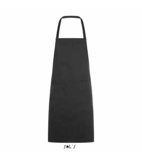 Zástěra (SOL'S GRAMERCY LONG APRON WITH POCKET)>šedá (dark)