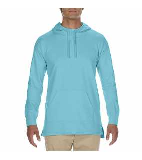 "Unisex mikina (Comfort Colors ""ADULT FRENCH TERRY SCUBA HOODIE"")>modrá (lagoon)>S"