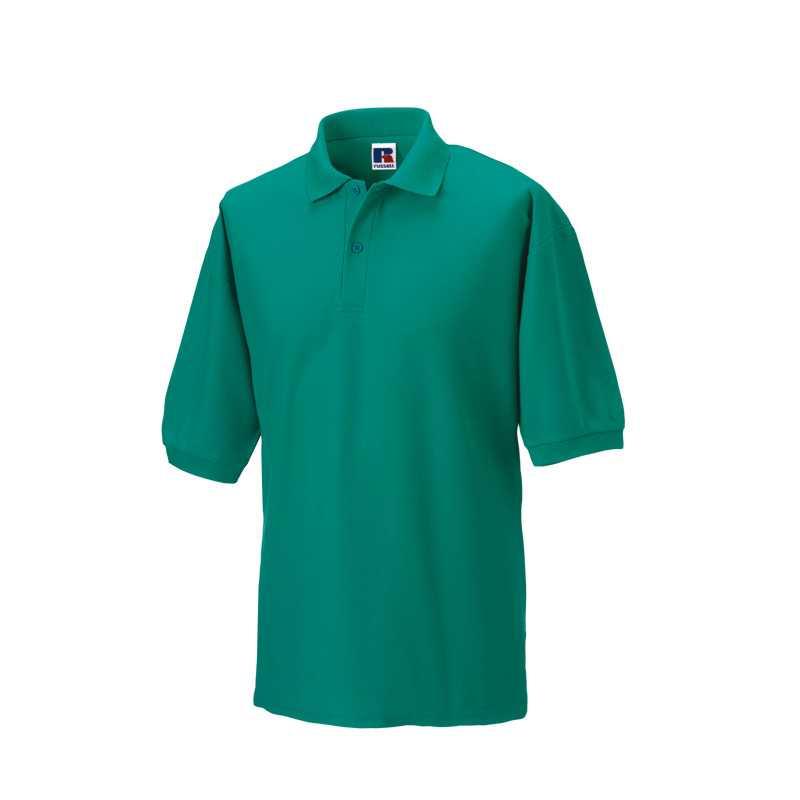 3f2b839dcbe Pánská polokošile (Classic PolyCotton RUSSELL) zelená (winter smaragd) L