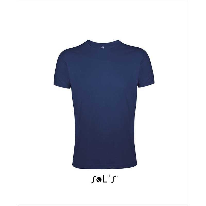 Pánské tričko(SOLS REGENT FIT) modrá (frenchnavy) XL. reklamní předměty ... 9599a70253