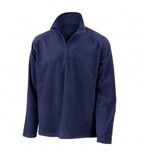 Unisex mikina (RESULT CORE MICRON FLEECE - MID LAYER TOP)>modrá (navy)>L