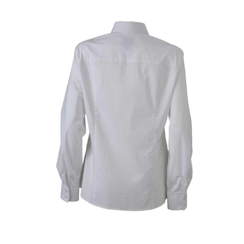 Dámská košile (JN Ladies  Blouse) bílá 2XL - Reklamní předměty ... 0e7a512470