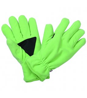 Zimní rukavice (MB ThinsulateTM Fleece Gloves)>zelená (lime)>S/M