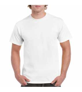 Unisex triko(GILDAN HEAVY COTTON ADULT T-SHIRT)>bílá>L