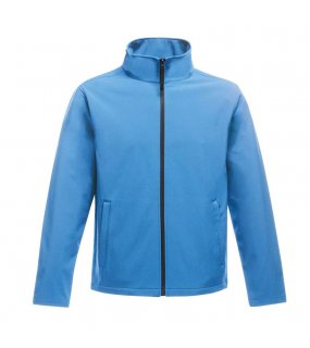 Dámská bunda (REGATTA Ablaze WOMEN'S PRINTABLE SOFTSHELL)>modrá (french) / modrá (navy)>S