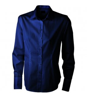Dámská košile (JN Ladies' Long-Sleeved Blouse)>modrá (navy)>2XL