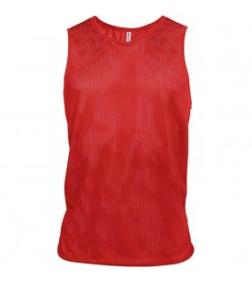 Unisex tílko(ALL SPORTS LIGHT MESH BIB PROACT)>červená (sporty)>XXS/XS