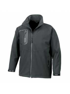 Unisex bunda (RESULT TECH PERFORMANCE ULTRA LITE SOFT SHELL JACKET)>černá>M