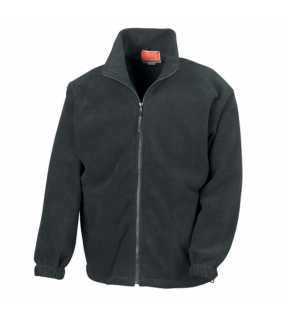 Unisex bunda (RESULT FULL ZIP ACTIVE FLEECE JACKET)>černá>L