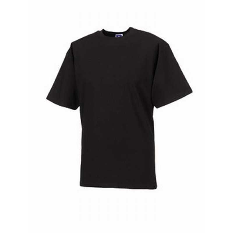 Pánské tričko (Heavyweight RUSSELL) černá M - Reklamní předměty ... b7d6558d8c