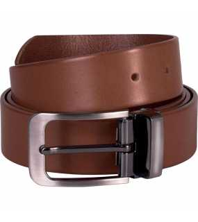 "Pásek (K-UP ""CLASSIC LEATHER BELT - 35MM"")>hnědá (cognac)"