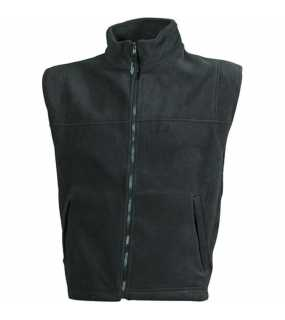 Pánská fleece vesta (JN Fleece Vest)>šedá (dark)>L