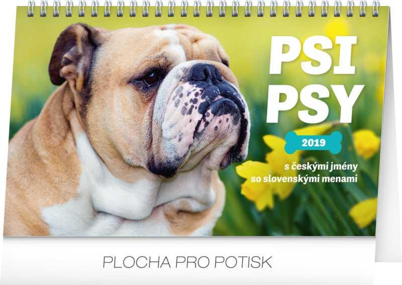 psi kalendar sk Stolní kalendář