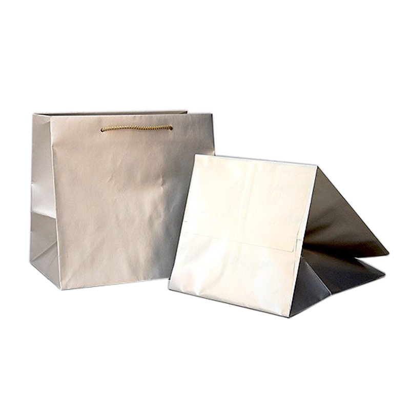 b5d9c4ad1 Papírová taška> šedá (platin)> 320x230x310mm (na objednávku ...