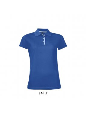 Dámská polokošile(SOLS PERFORMER WOMEN WOMENS SPORTS POLO SHIRT)>modrá (royal)>S