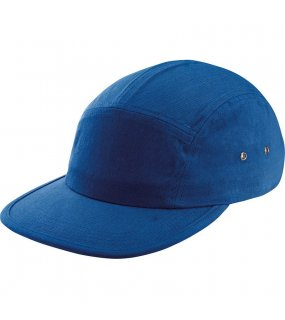 5 panelová kšiltovka(5 PANEL FASHION FLAT PEAK CAP)>modrá (royal)