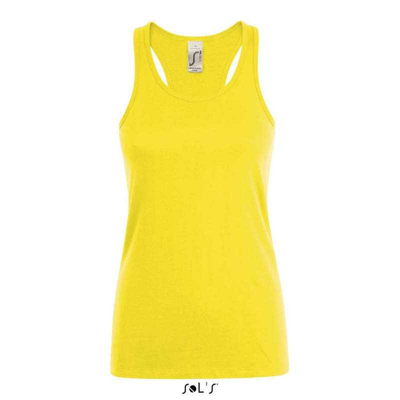 39e30e7ee3e Dámské tílko (SOL S JUSTIN WOMEN RACERBACK TANK TOP) žlutá (lemon) M ...