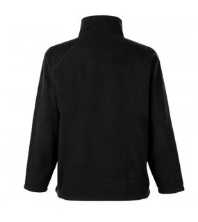 Pánská flecee bunda (FRUIT OF THE LOOM Half Zip Fleece)>černá>XL