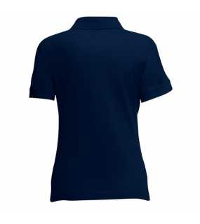 Dámská polokošile (FRUIT OF THE LOOM Lady-Fit 65/35 Polo)>modrá (deep navy)>S