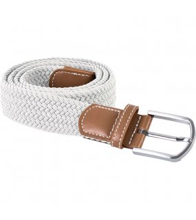 "Pásek (K-UP ""Braided elasticated BELT"")>bílá"