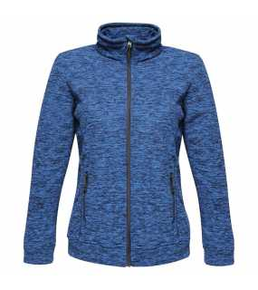 Dámská bunda (REGATTA THORNLY WOMEN - FULL ZIP MARL FLEECE)>modrá (navy marl)>XL