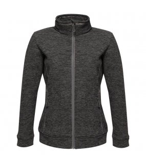 Dámská bunda (REGATTA THORNLY WOMEN - FULL ZIP MARL FLEECE)>šedá (seal marl)>3XL
