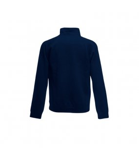Dětská mikina (FRUIT OF THE LOOM Kids Sweat Jacket)>modrá (deep navy)>5/6