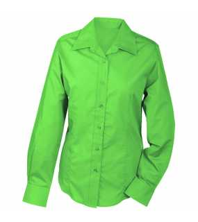 Dámská košile (JN Ladies' Promotion Blouse Long-Sleeved)>zelená (lime)>L