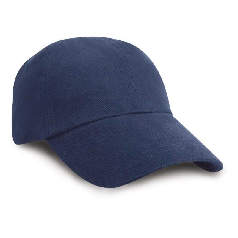 Kšiltovka (RESULT LOW PROFILE HEAVY BRUSHED COTTON CAP)>modrá (navy)
