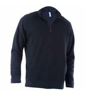 Unisex fleece mikina(KARIBAN FULL ZIP FLEECE JACKET)>modrá (navy)>L