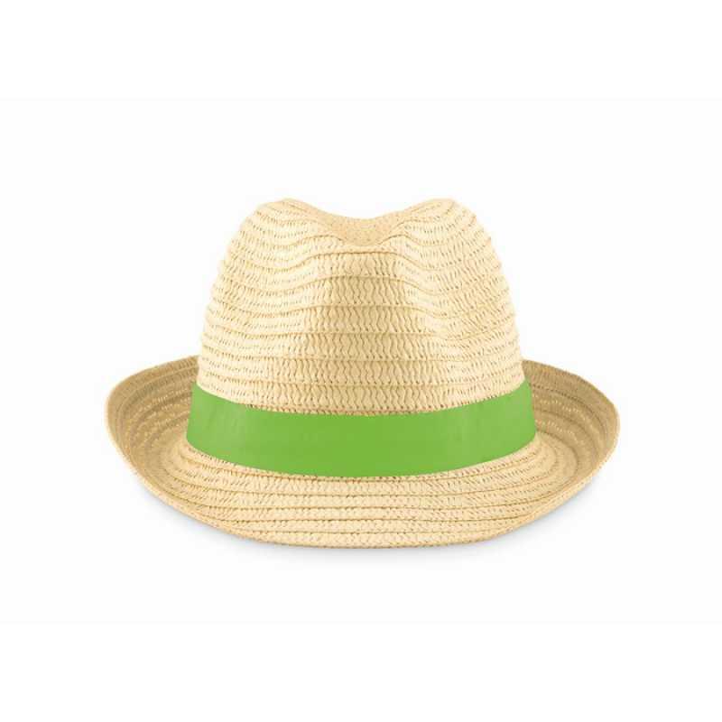 dc0492f0cc9 Slaměný klobouk  zelená (limet). reklamní předměty ...