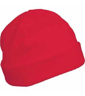 Fleece čepice(KARIBAN FLEECE HAT)>červená>55