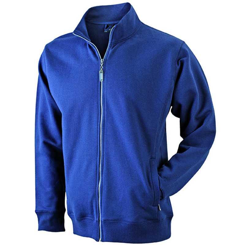 78f1399e8d3 Pánská mikina (JN Men s Jacket) modrá (navy) XL - Reklamní předměty ...