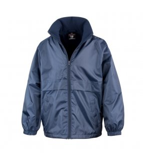 Dětská bunda (RESULT CORE JUNIOR MICRO FLEECE LINED JACKET)>modrá (navy)>XS