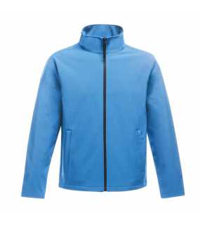 Pánská bunda (REGATTA Ablaze MEN'S PRINTABLE SOFTSHELL)>modrá (french) / modrá (navy)>L