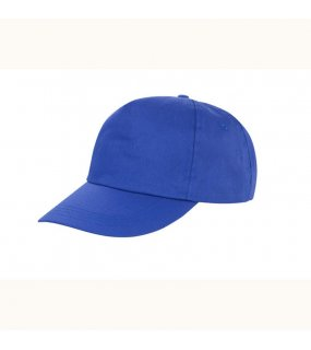 5 panelová kšiltovka (RESULT Houston 5-Panel Printers Cap)>modrá (royal)