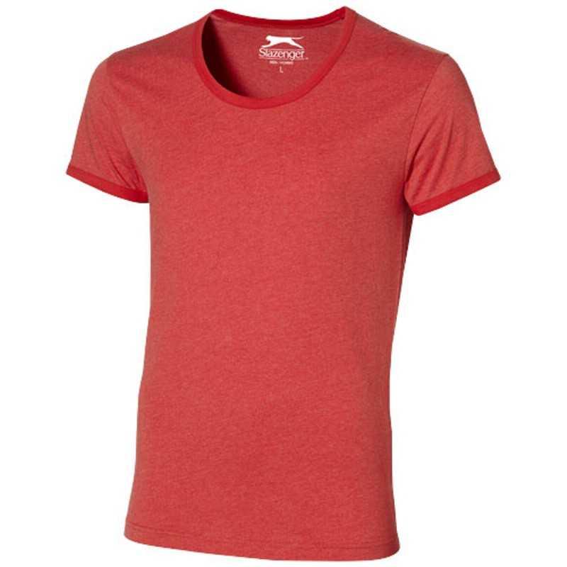 Pánské triko (CHIP BY SLAZENGER)  červená (heather)  M. reklamní předměty  ... 71c1668826