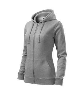 a4b4a6c9a6e7 Dámská mikina (ADLER Trendy Zipper)   šedá (tmavý melír)   S